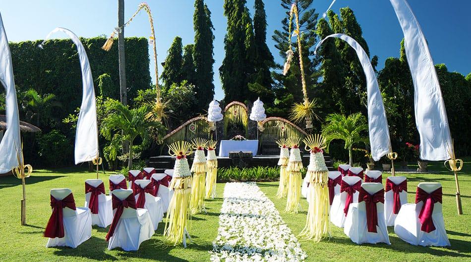 Wedding At White Rose Kuta Resort Villas Spa Sun Island Bali