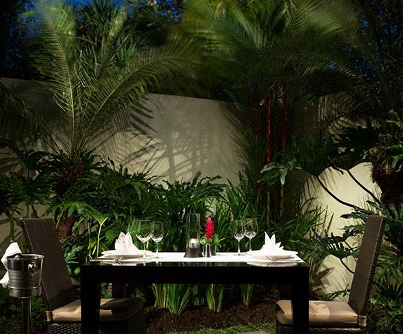 Romantic Dinner at Villas Seminyak