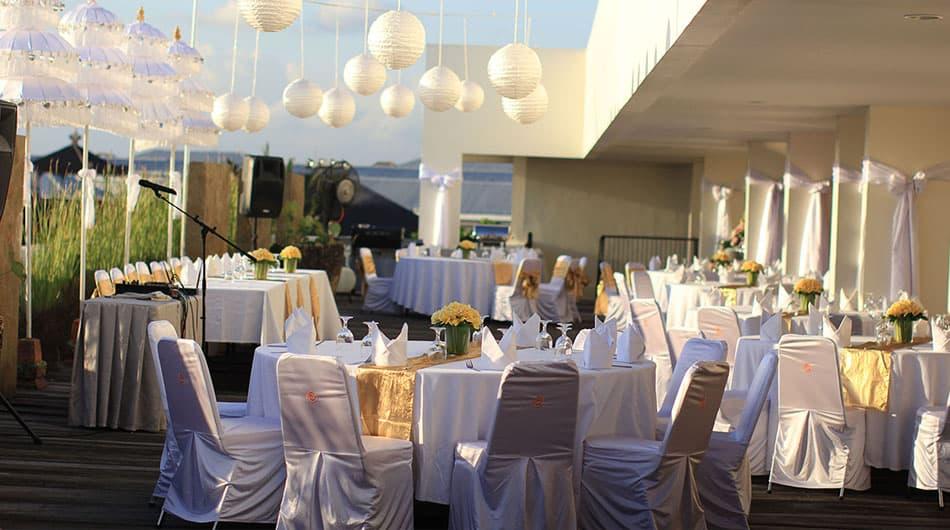 Kuta Bali Wedding Setup - Sun Island Hotel