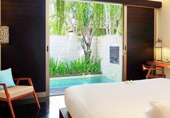 Sun-Island-Boutique-Villas-&-Spa-Seminyak---Deluxe-Pool-Villa---Bedroom-2