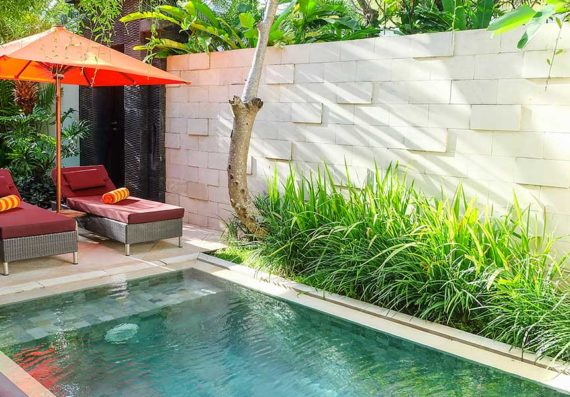 Sun-Island-Boutique-Villas-&-Spa-Seminyak---Two-Bedroom-Pool-Villa---Exterior-Villa