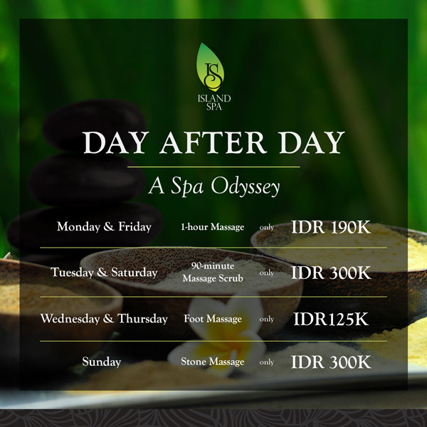 feel our Odyssey Spa in sun island spa kuta